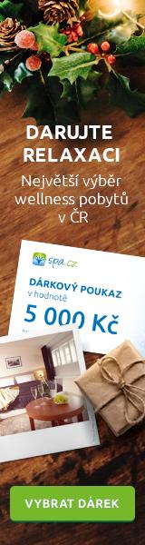 Dárkové poukazy Spa.cz