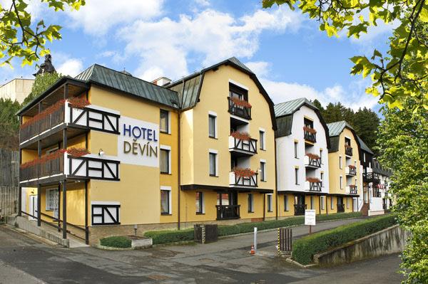 Hotel Děvín v Mariánských Lázních