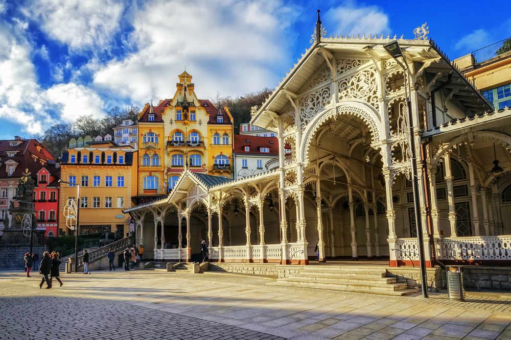 Tržní kolonáda Karlovy Vary